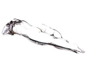 Jeroen Dercksen Ipad-tekening, pose I
